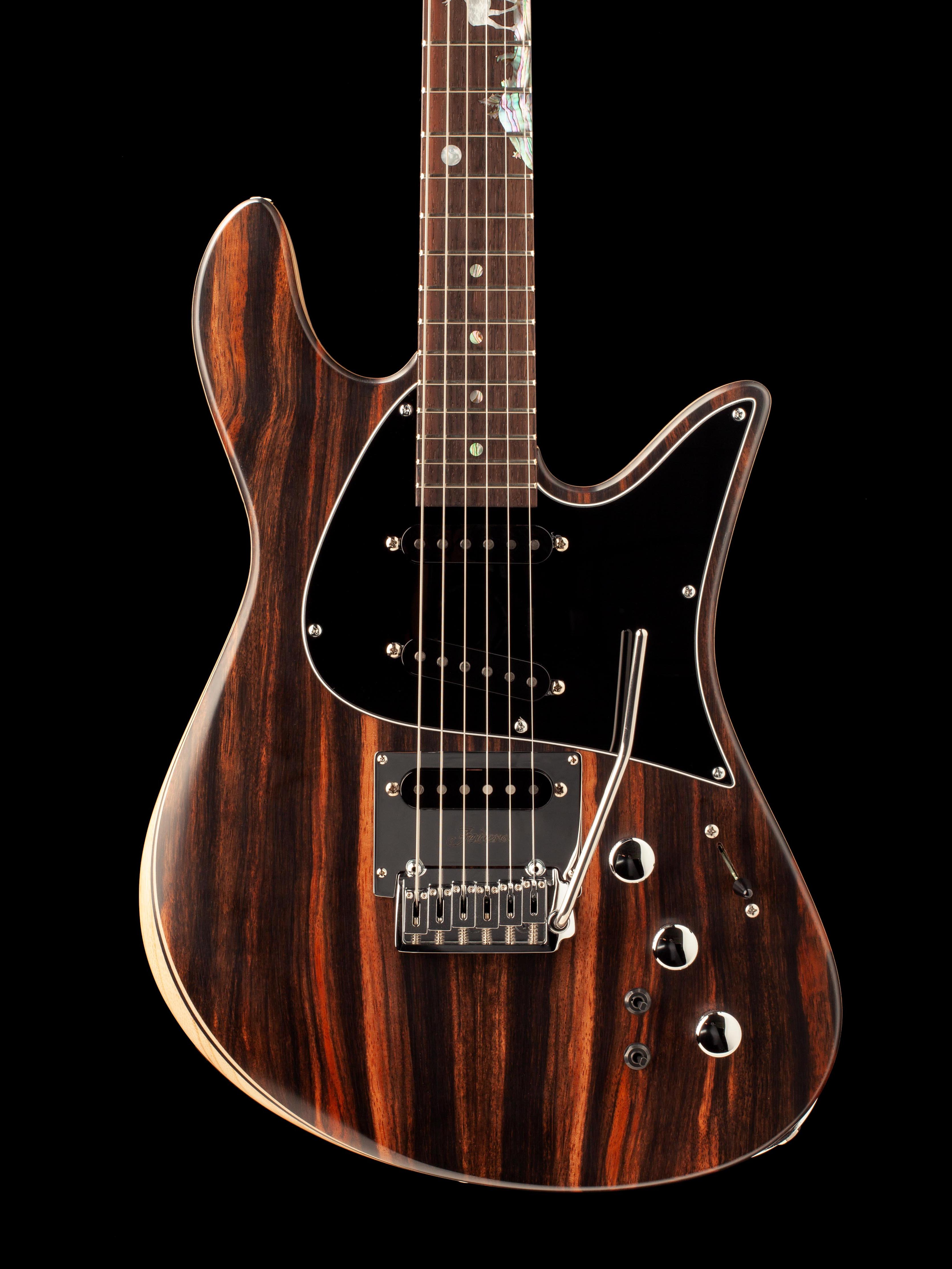 Six-String Guitar Body With Whammy Bar