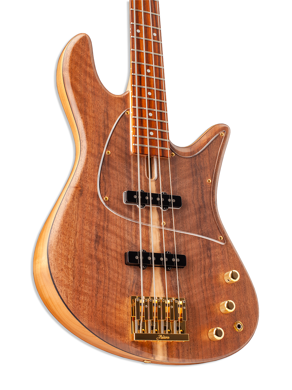 Flame Walnut Emperor J Standard Special Bass Guitar Body
