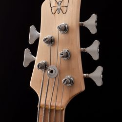 5-String Bass Headstock Front