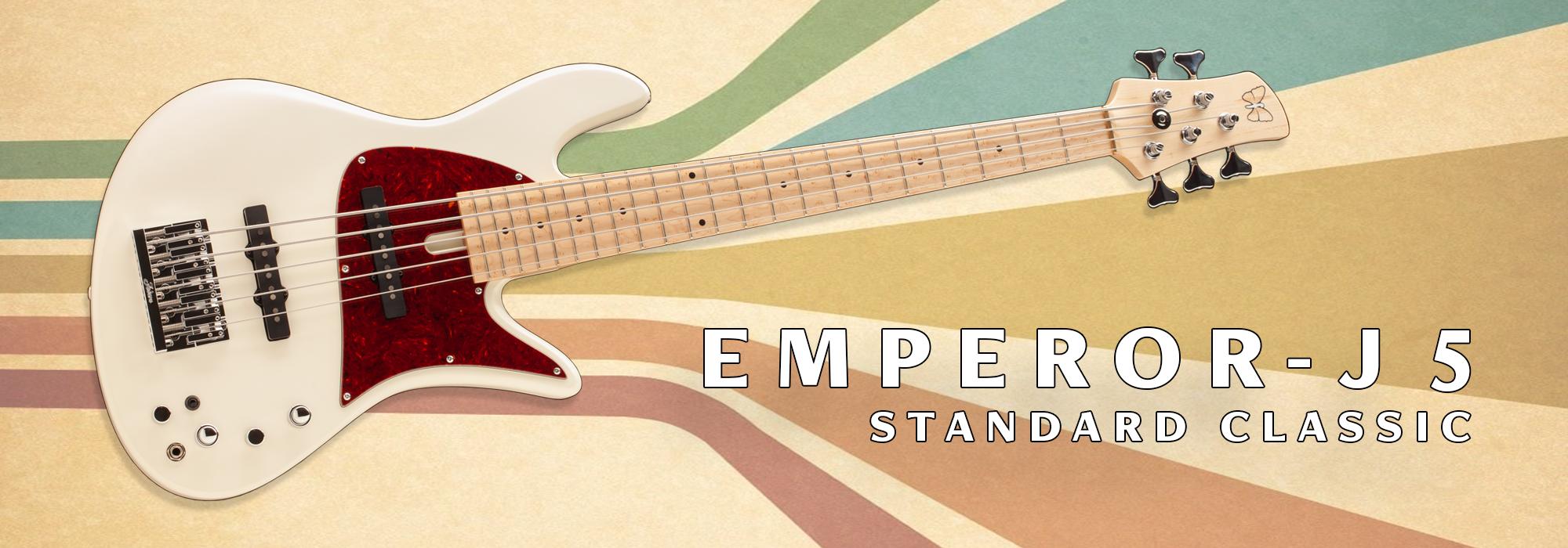 Emporer J5 Standard Classic Bass Guitar