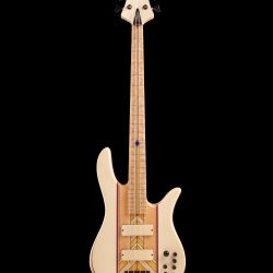 Front View of Masterbuilt Prairie Bass Guitar