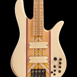 Front View of Masterbuilt Prairie Bass Guitar Body