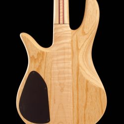 Rear View of Masterbuilt Prairie Bass Guitar Body
