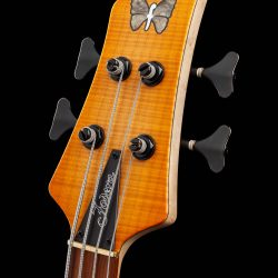 4-String Bass Guitar Headstock