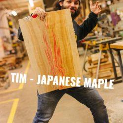 Japanese Maple Bass Topwood