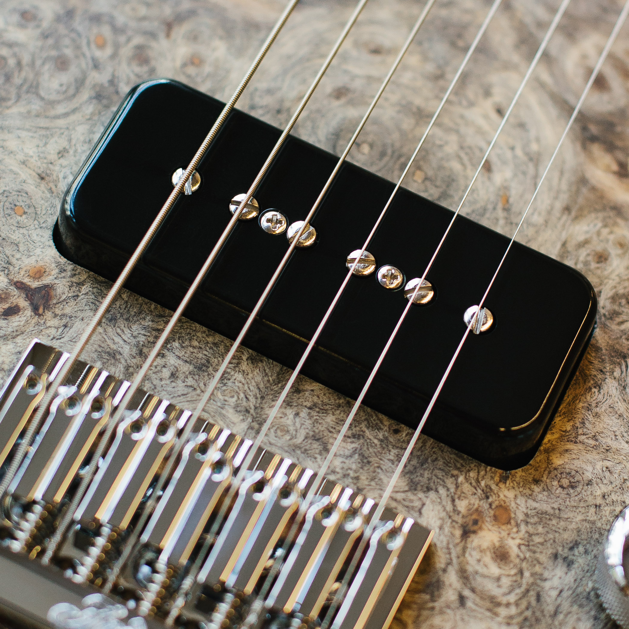 Fodera Bass Guitar Bridge