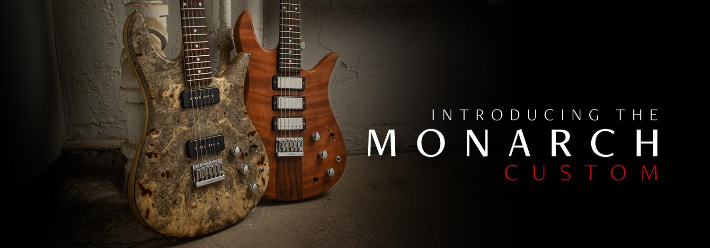 Introducing the Monarch Custom Bass Guitar