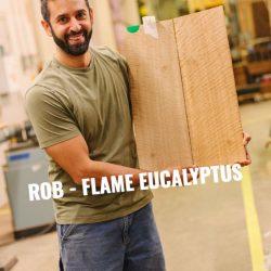 Flame Eucalyptus Bass Topwood