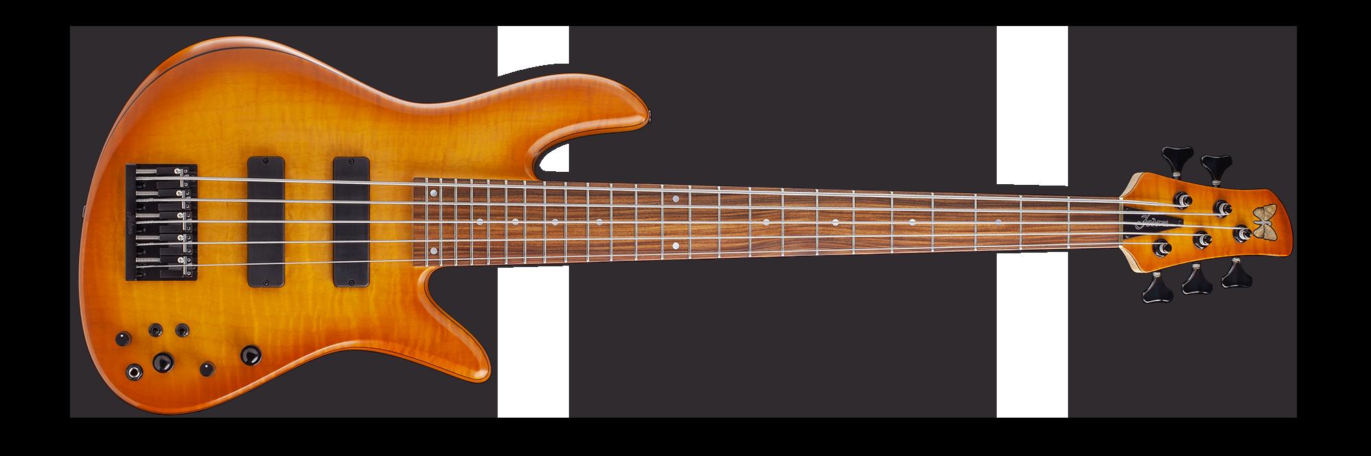 Bass Guitar Horizontal Banner