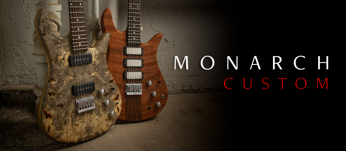 Monarch Custom Basses Banner