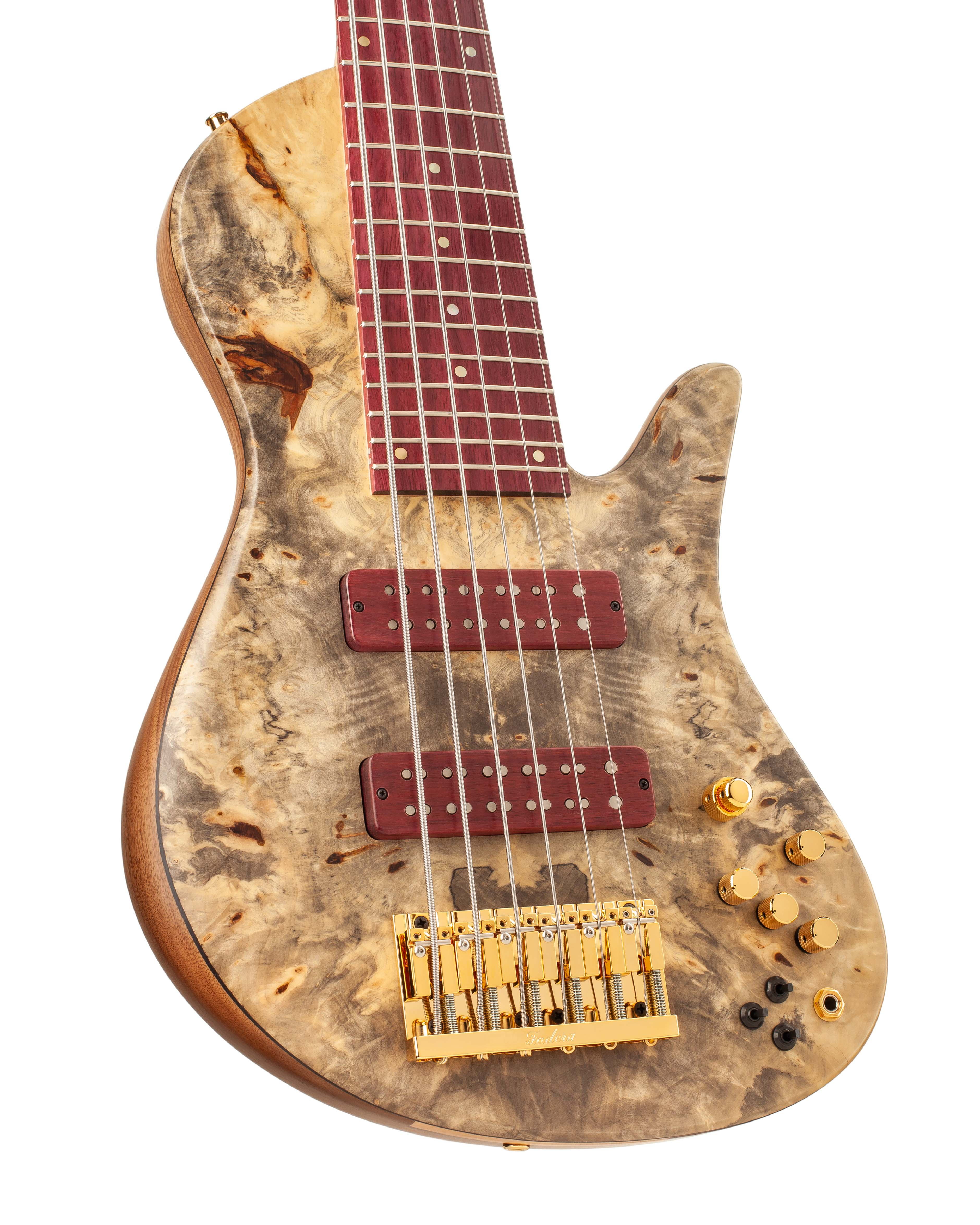 Six-String Custom Bass Guitar