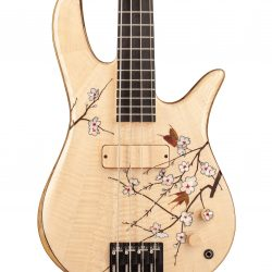 Masterbuilt Cherry Blossom Custom Bass Body Front