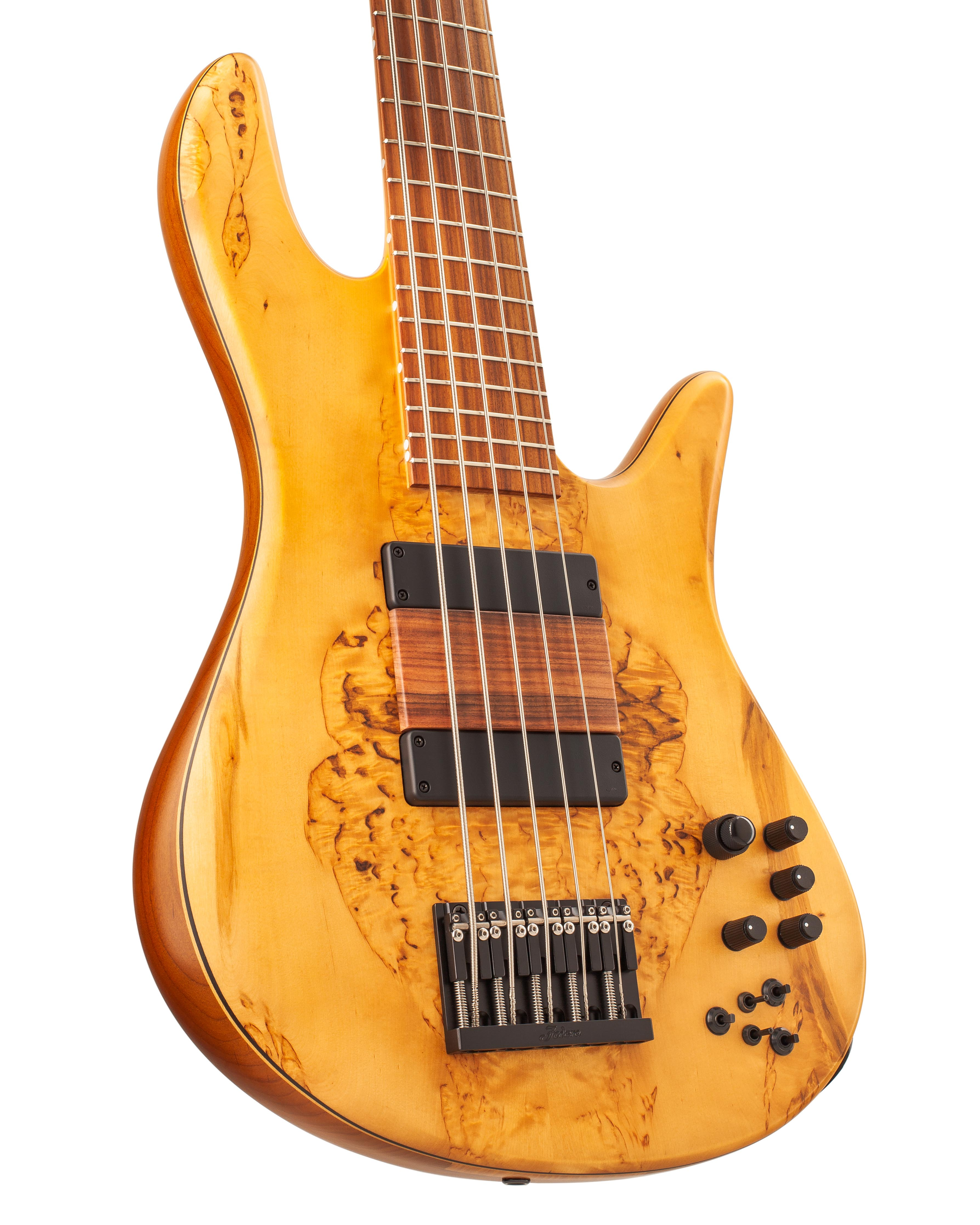Emperor Custom Bass Guitar With Warm Yellow Topwood