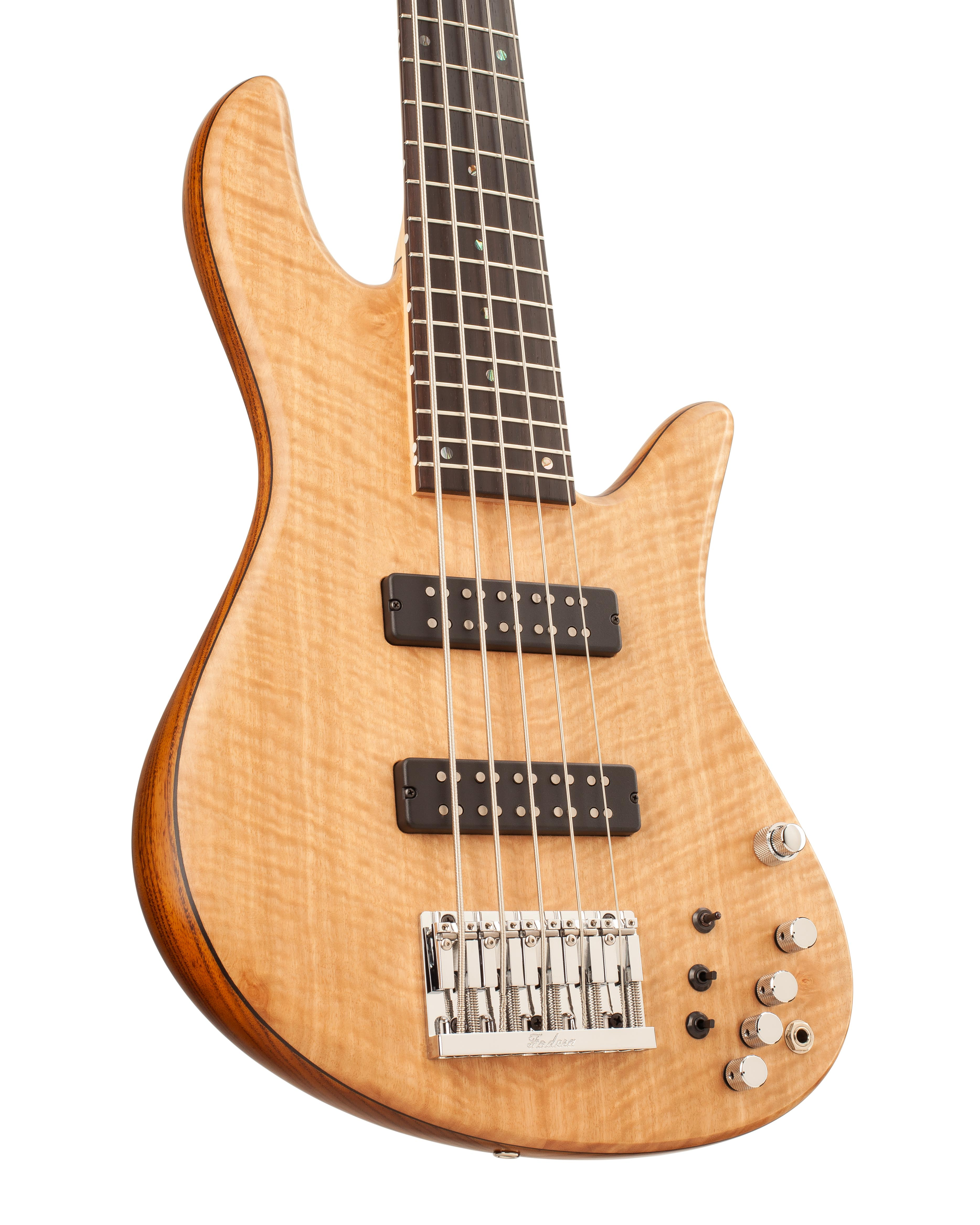 Emperor Custom Bass Guitar With Light Brown Topwood