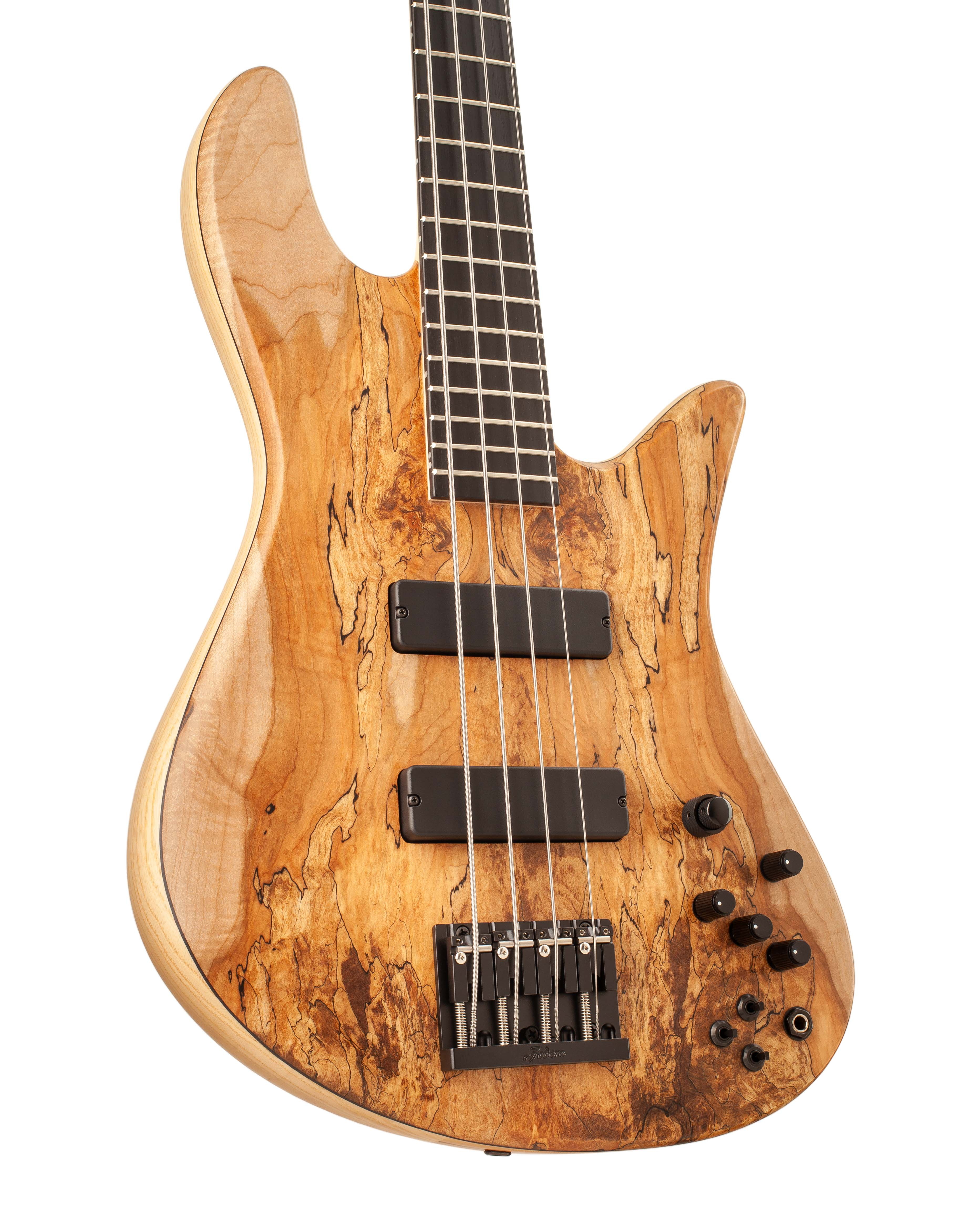 Custom Bass With Textured Topwood Body