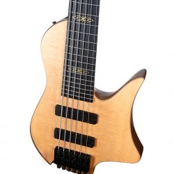 Masterbuilt Crescent Bass Body and Pickups