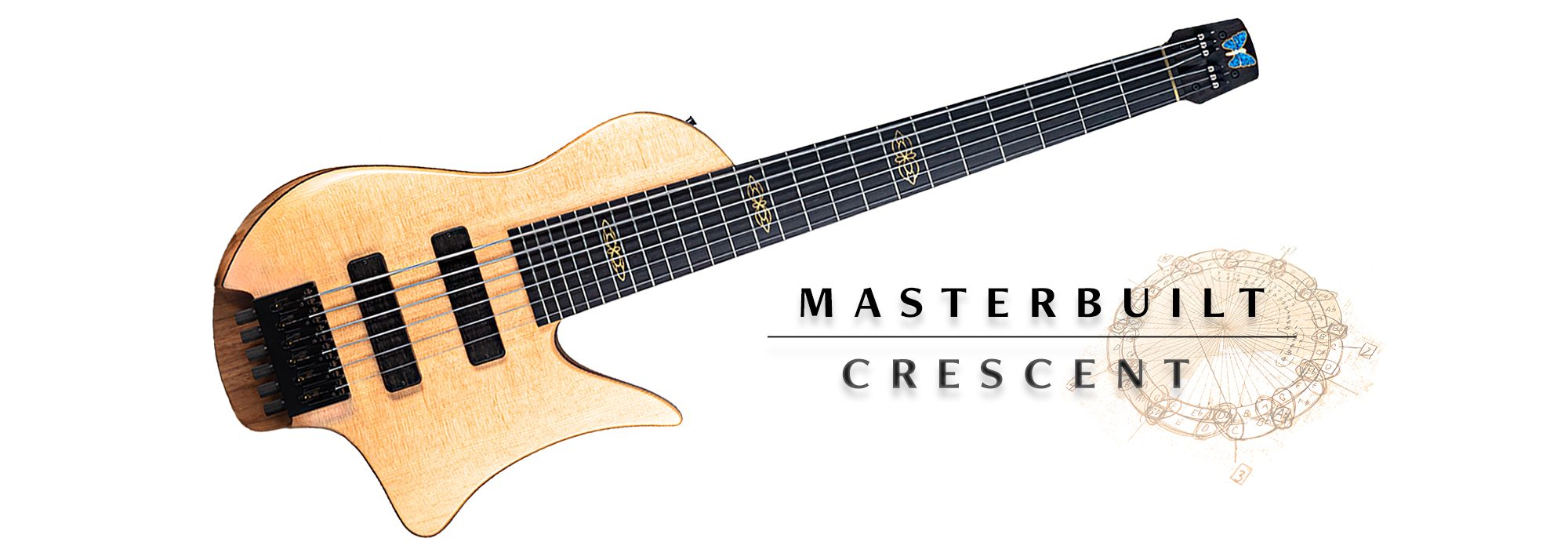Masterbuilt Crescent Bass Guitar