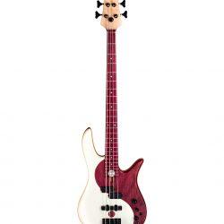 Purple Heart Yin Yang Bass Guitar Full