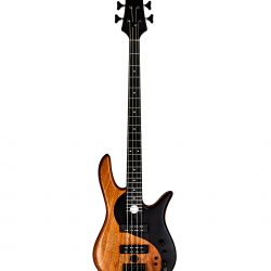 Mahogany Yin Yang Series Bass Guitar Front Full
