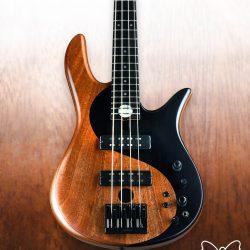 Mahogany Yin Yang Series Bass Guitar