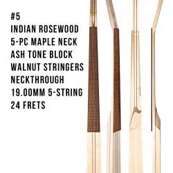 Indian Rosewood Base Neck #5