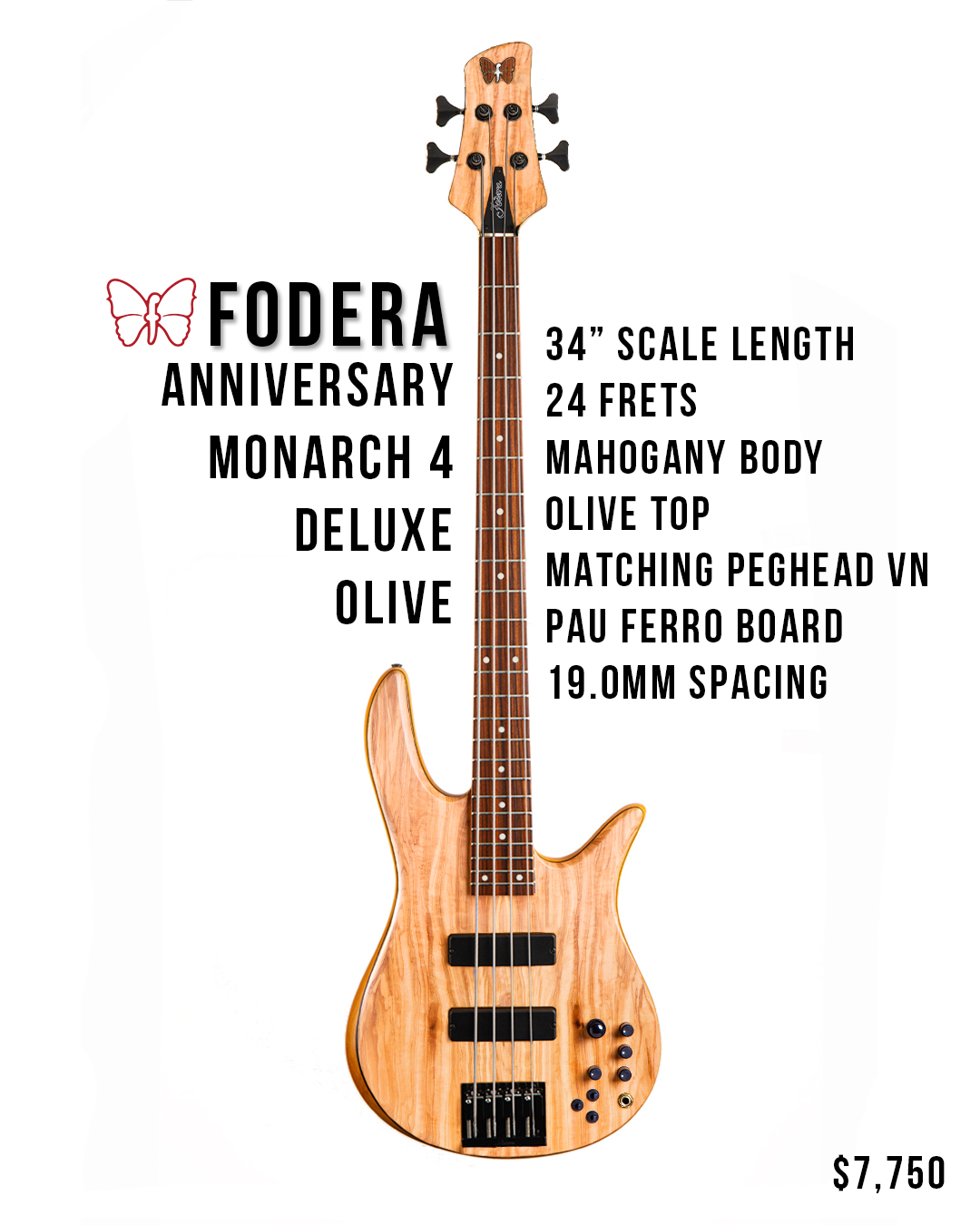 Monarch 5 Deluxe Bass Stats Banner