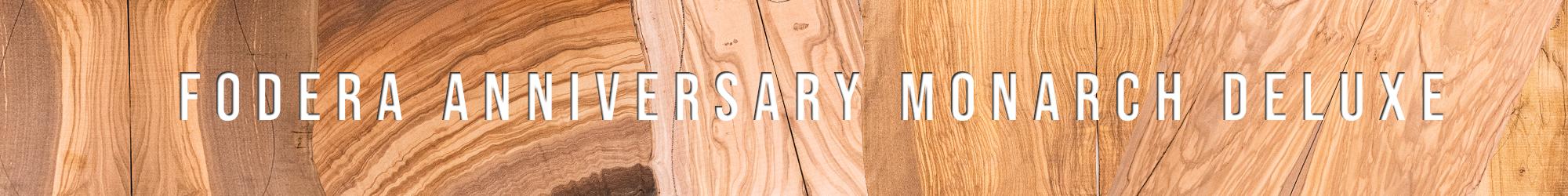Fodera Anniversary Monarch Deluxe Bass Banner