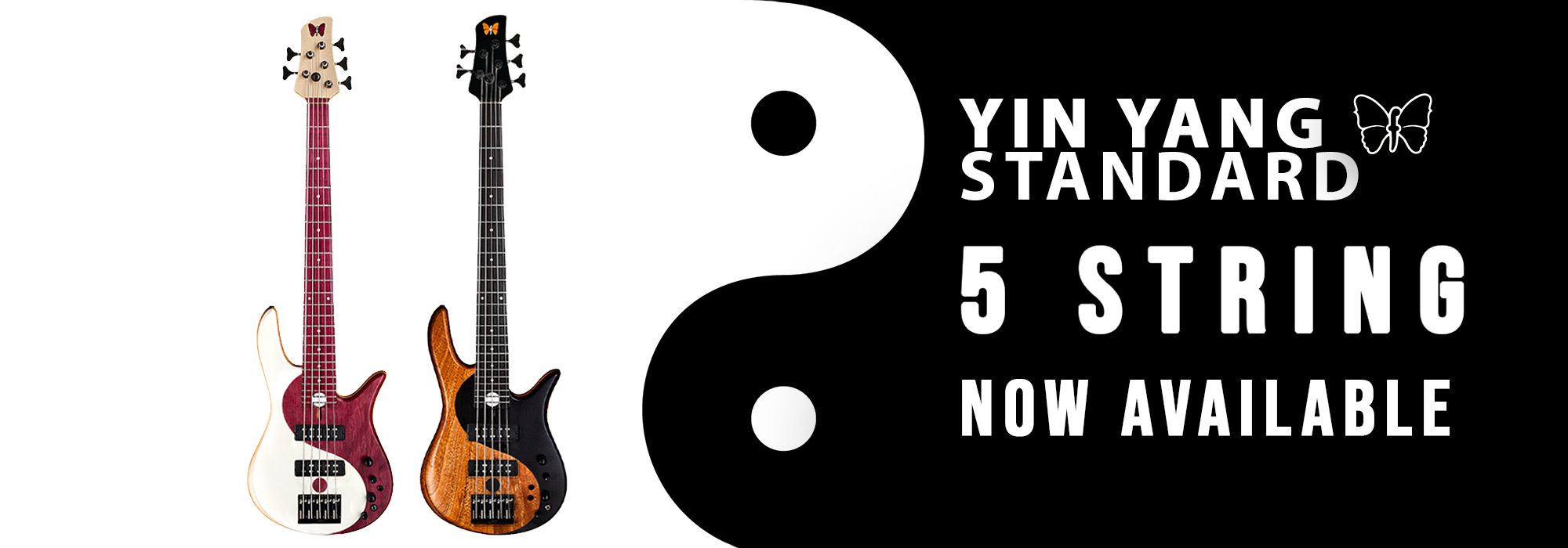 Yin Yang Standard 5-String Bass Now Available