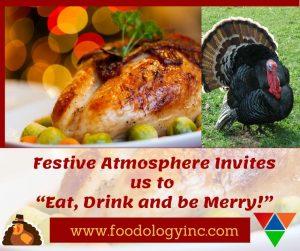 Eating in Festive Atmosphere