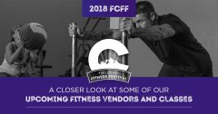 A Closer Look At Some Of Our Upcoming Fitness Vendors And Classes