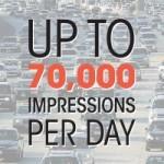 70,000 IMPRESSIONS