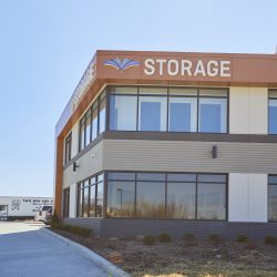 Outside Fountain Lakes Storage in St. Charles, MO.
