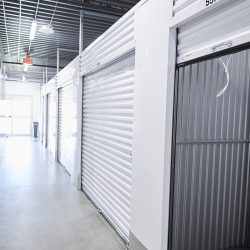 Inside the self-storage facility at Fountain Lakes Storage in St. Charles, MO.
