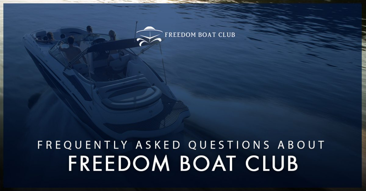 Texas Boating - Frequently Asked Questions About Freedom