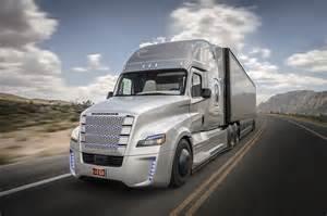 Freightliner autonomous truck