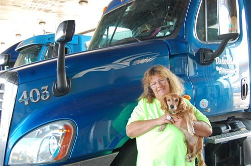 Women trucking