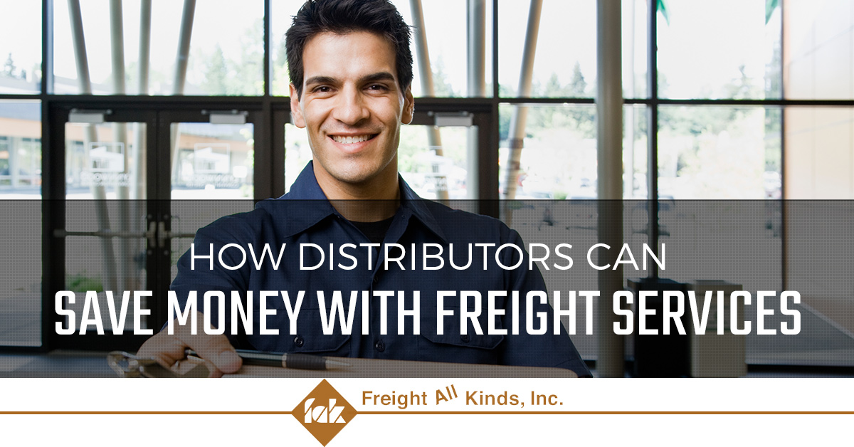 Learn how distributors can save money with freight services
