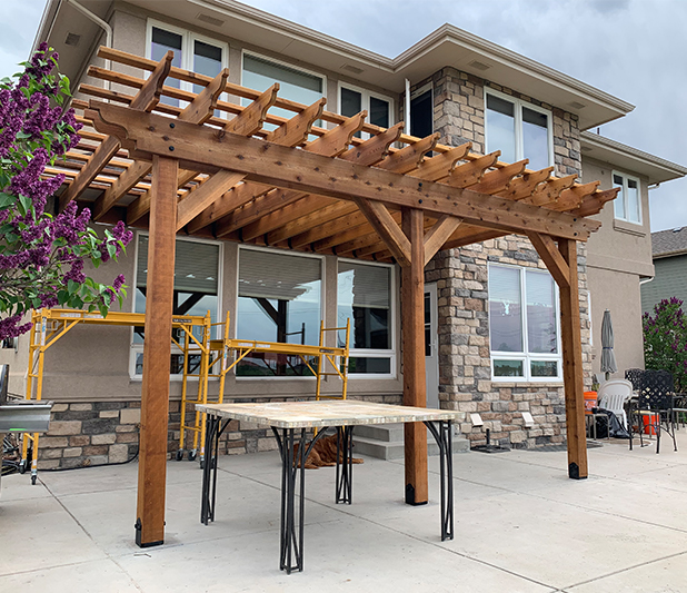 Our Work - Custom Pergolas, Patios, Decks, And More ... on Front Range Outdoor Living id=70190