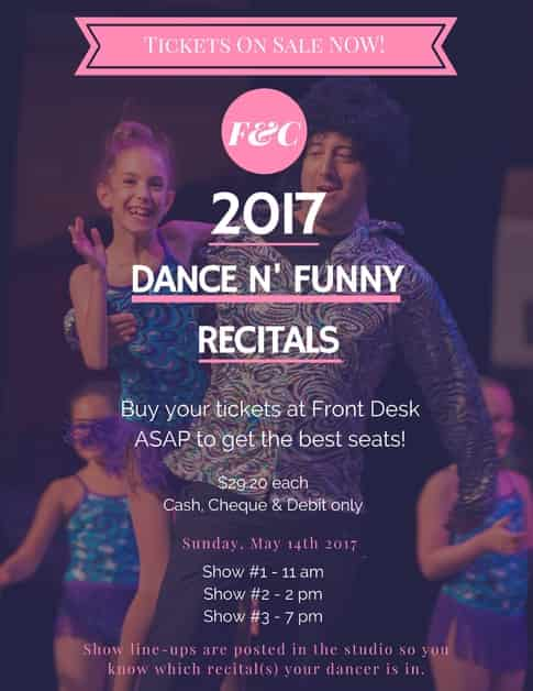 Dance Classes For Kids Recital 2017