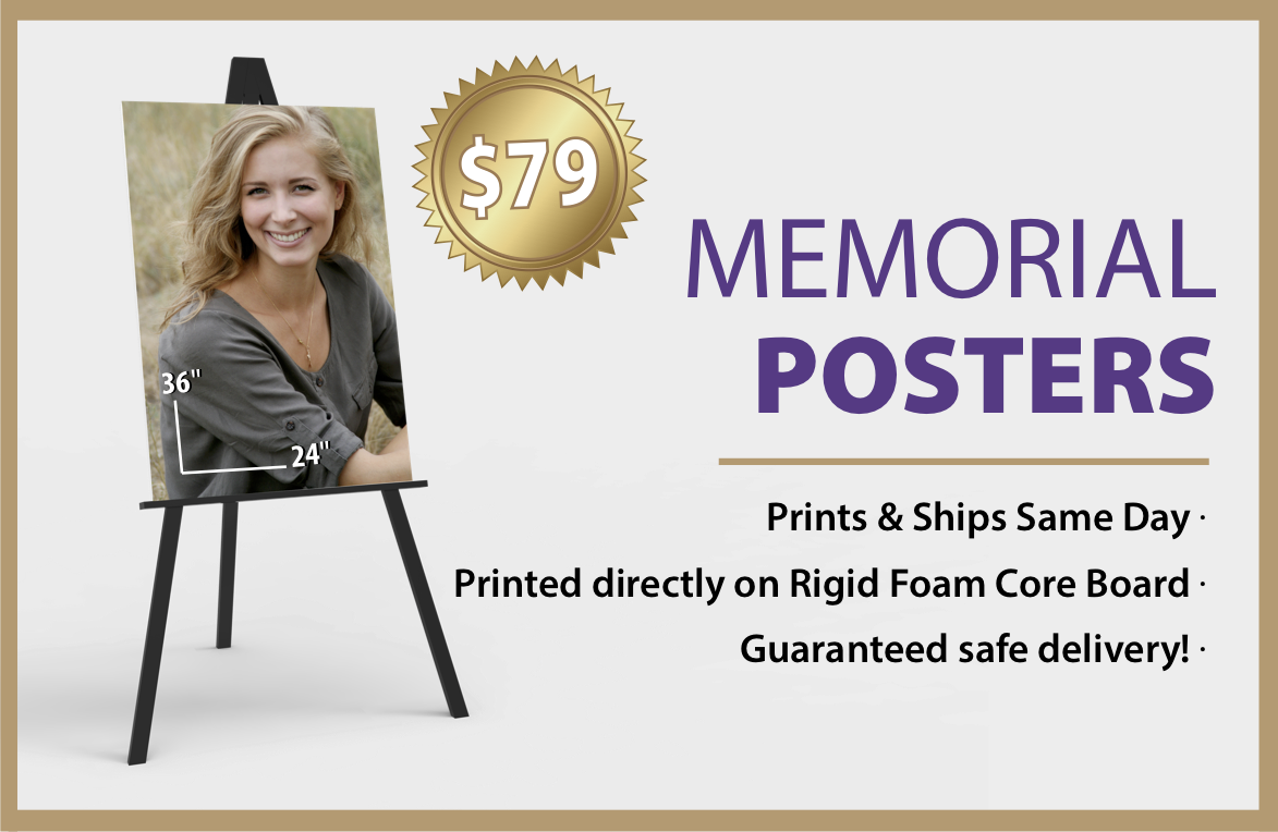 funeralprints com custom funeral memorial service obituary printing
