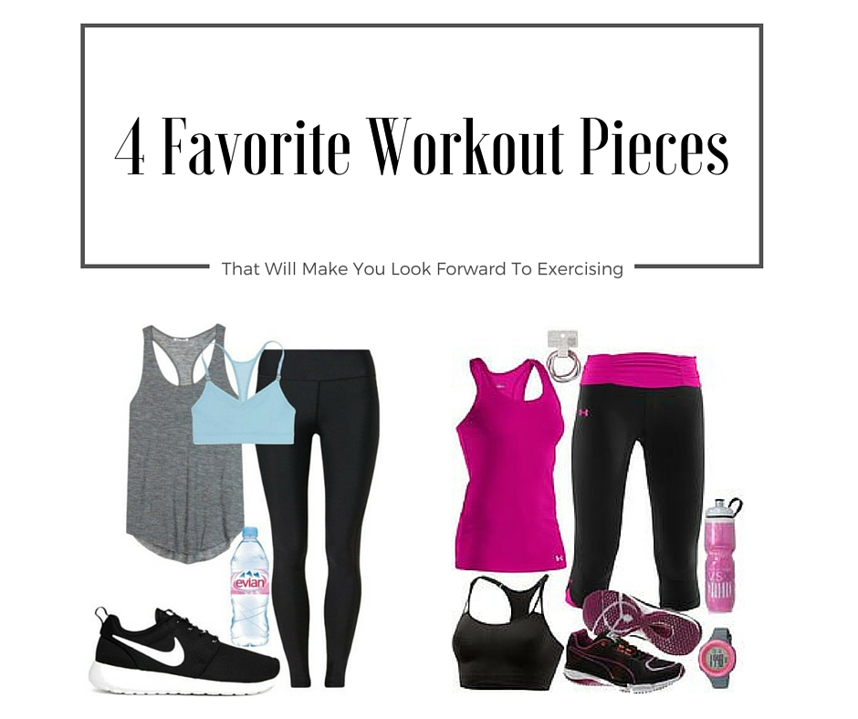 4 fitness outfits that are perfect for training