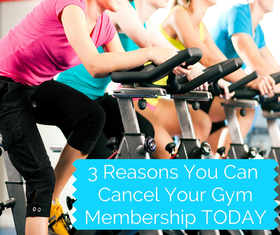 Cancel your gym membership and opt for personal fitness training.