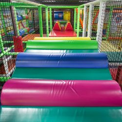 kids playground indoor - Funtastic Playtorium in Bellevue, WA