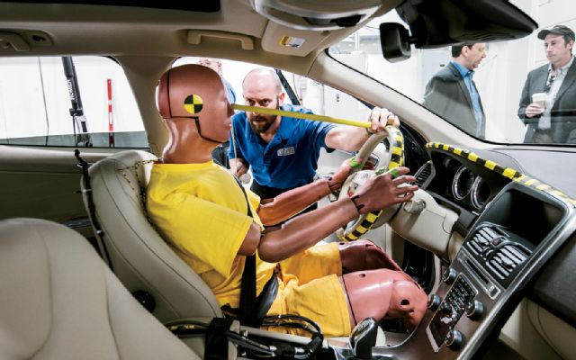 Even crash test dummies will soon lose their jobs