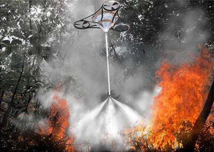Using Drones To Eliminate Future Forest Fires Futurist