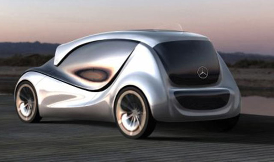 Driverless Car - Mercedes 1
