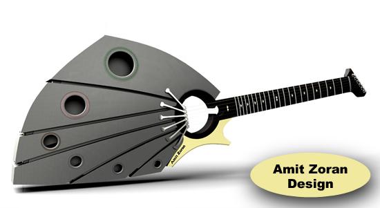 Printed Guitar 22