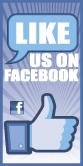 futurist speaker like-us-on-facebook-pole-banner