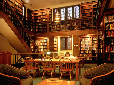 Books have long created an impressive backdrop for library activities, but those days may be numbered