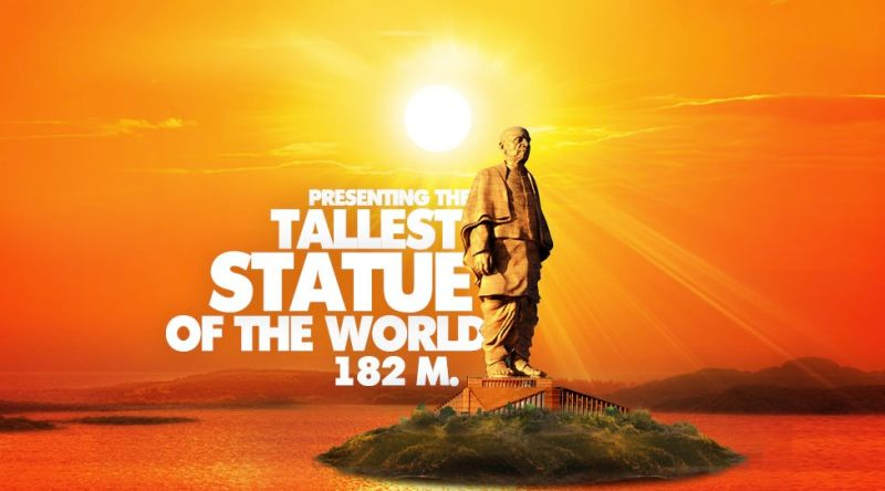 The 790 feet tall statue of Sardar Patel will soon be the tallest in the world